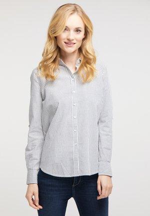 EMMA - Button-down blouse - grey