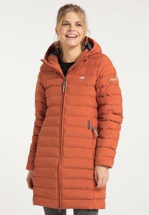 Winter coat - rotbraun