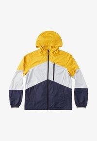DC Shoes - DAGUP BLOCK PACKABLE - Waterproof jacket - golden rod - 0