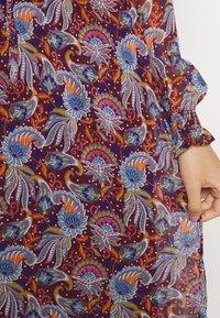 Vila - VIFALIA ANCLE DRESS - Maxi dress - winetasting blue - 5