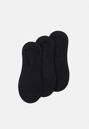 SHOW SOCKS 3 PACK  - Sportovní ponožky - black