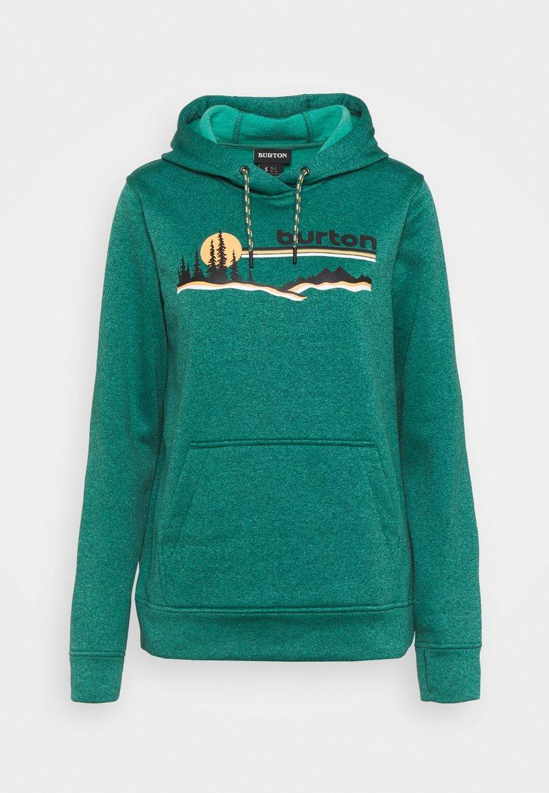 Burton - OAK - Sweatshirt - antique green heather