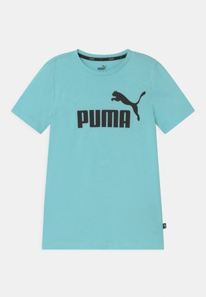 LOGO UNISEX - T-shirt med print - light blue