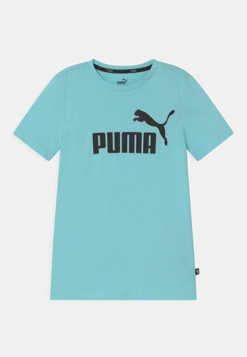 Puma - LOGO UNISEX - T-shirt print - light blue