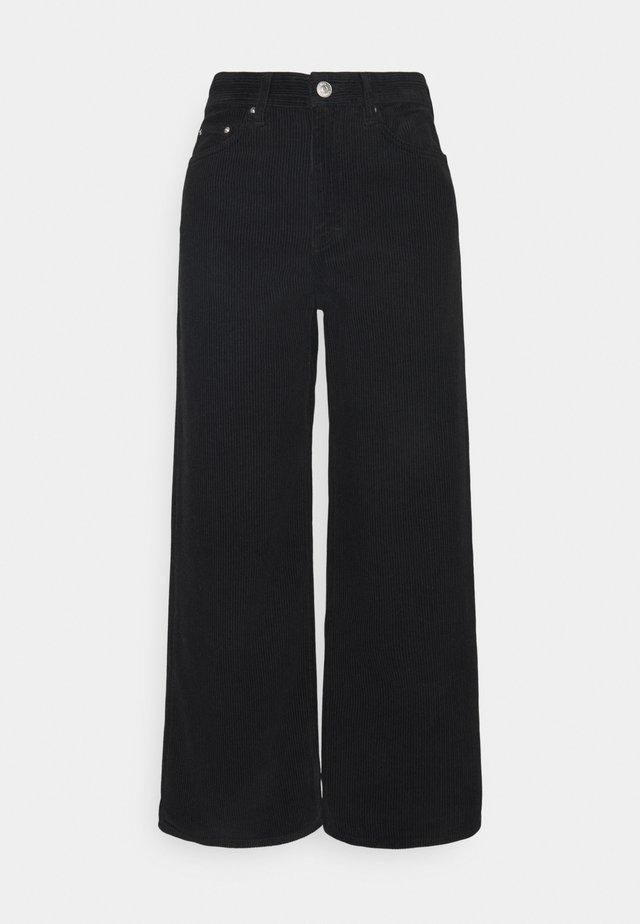 KIRI - Kalhoty - black