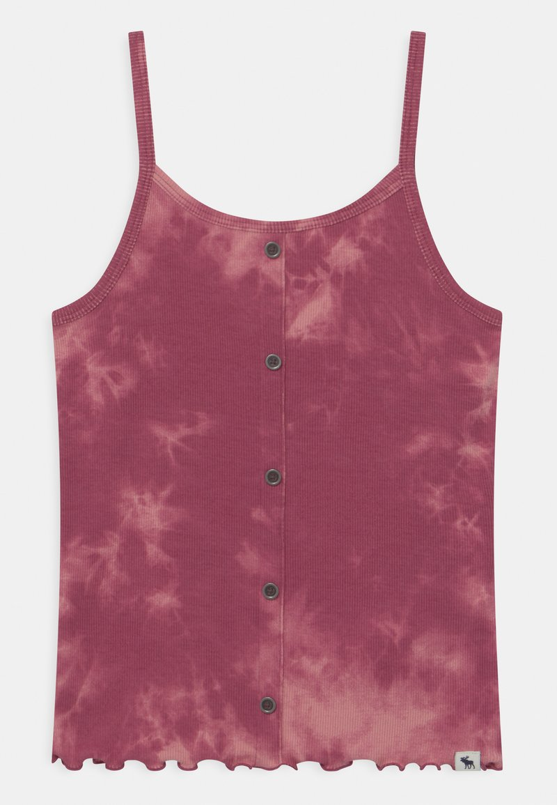 Abercrombie & Fitch - BEST BACK BUTTON - Top - purple