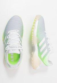 adidas Golf - CODECHAOS - Golfové boty - footwear white/signal green - 1