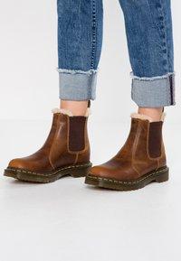 Dr. Martens - 2976 LEONORE - Classic ankle boots - butterscotch orleans - 0