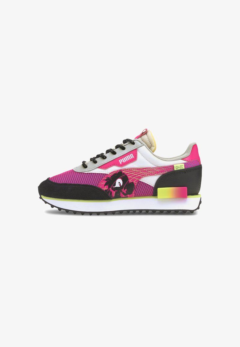 Puma - Trainers - glowing pink-puma black