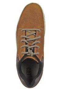 Cat Footwear - COLFAX - Sportieve veterschoenen - dark beige - 4