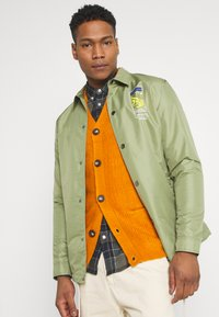 Redefined Rebel - TOBY CARDIGAN - Cardigan - golden oak - 4