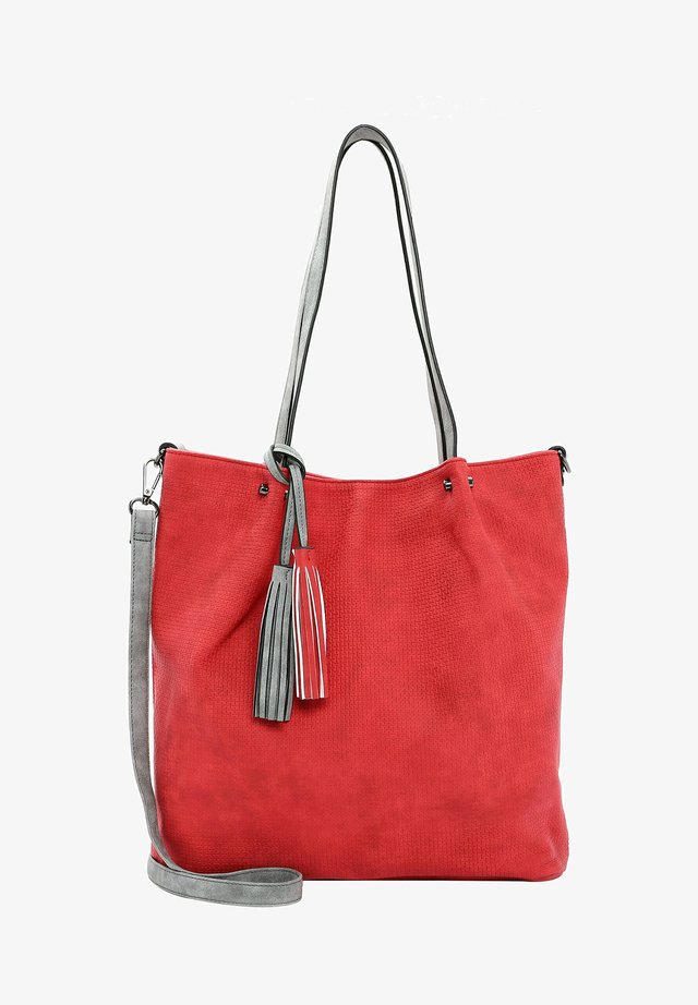 SURPRISE - Bolso shopping - red grey