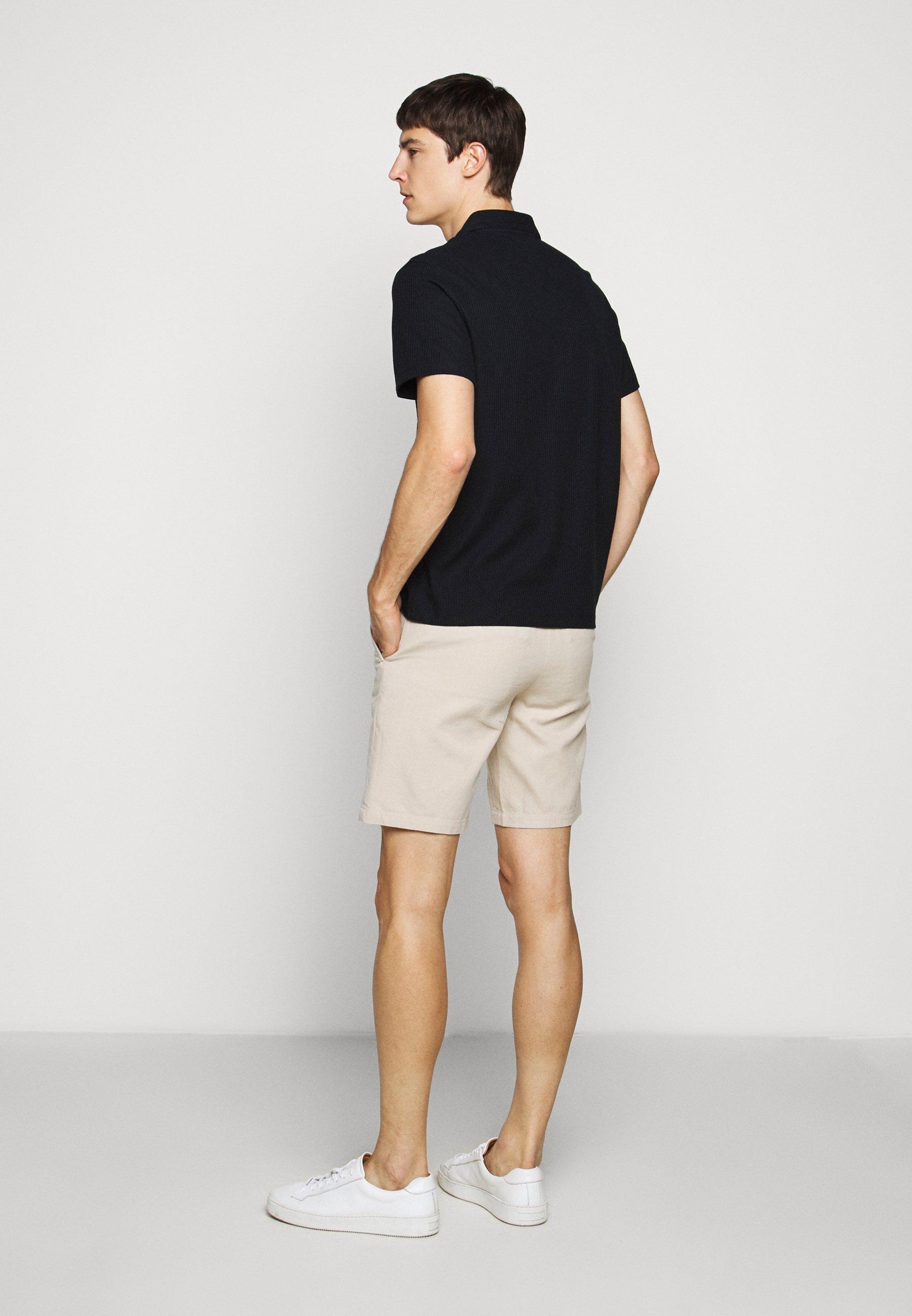 Club Monaco SPLIT NECK - Polo shirt - navy SHii1