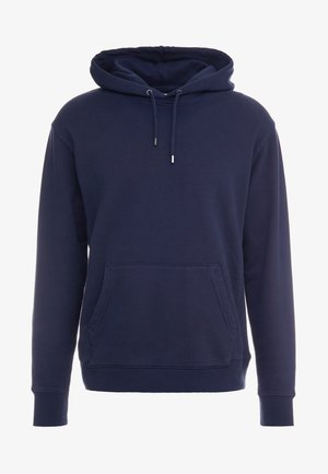 DYE FRENCH TERRY HOODY - Hoodie - washed navy