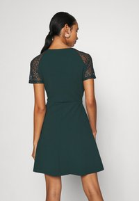 Vero Moda - VMJASMINE LACE TIE SHORT DRESS - Jersey dress - ponderosa pine - 2