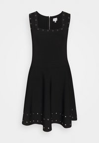 Milly - GROMMET TIERED DRESS - Day dress - black - 0
