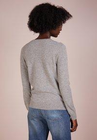 Repeat - CREW NECK CASHMERE - Sweter - light grey - 2