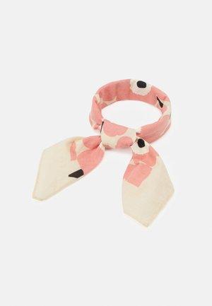 ASTRILLI MINI UNIKKO SCARF - Foulard - beige/pink/black