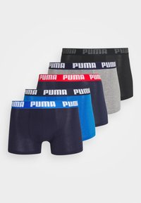 Puma - BASIC BOXER 6 PACK - Culotte - blue/black - 4