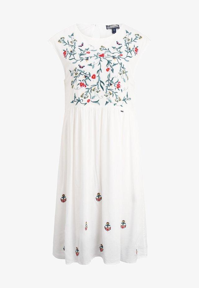 Sukienka letnia - wollweiß