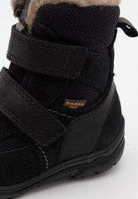 Froddo - LINZ TEX MEDIUM FIT UNISEX - Zimní obuv - black - 5