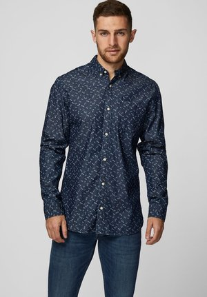 Hemd - dark blue denim