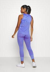 Nike Performance - MILER TANK - Camiseta de deporte - sapphire/reflective silver - 2