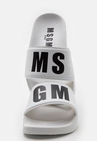 MSGM - UNISEX - Mules - white - 5