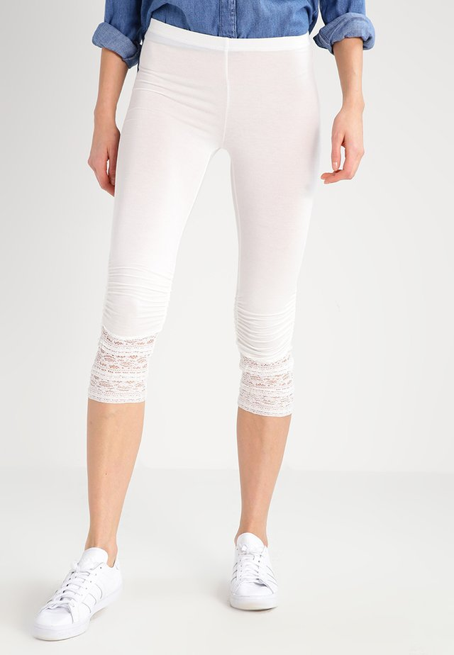 AGNES  - Leggingsit - chalk