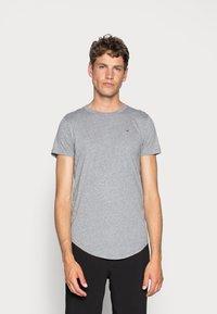 Hollister Co. - 3 PACK - Basic T-shirt - white/ grey /black - 1