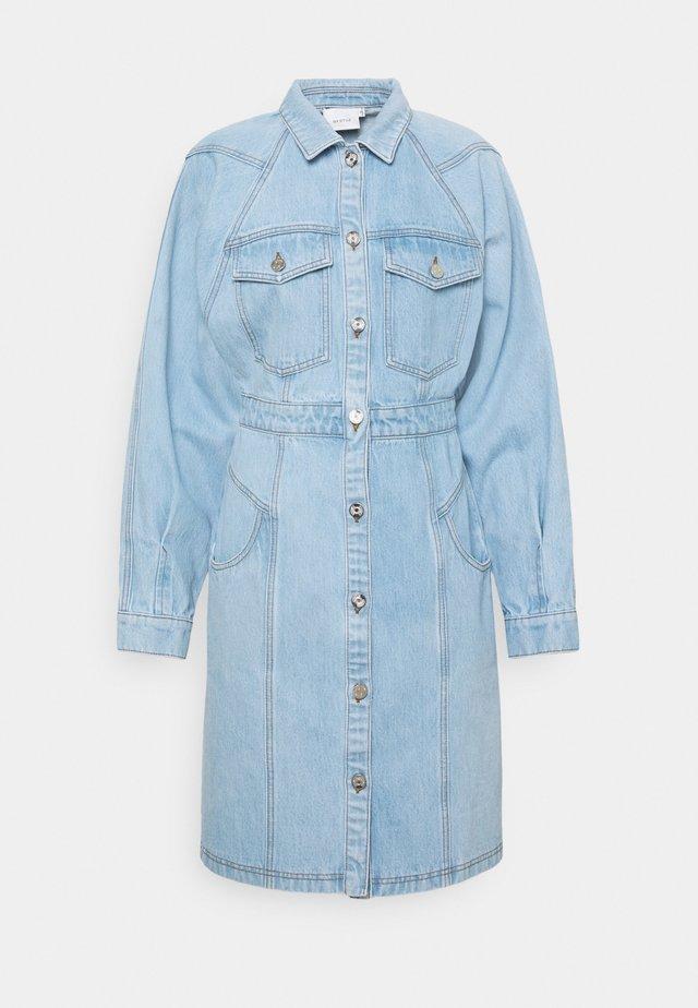 DRESS - Spijkerjurk - light blue vintage