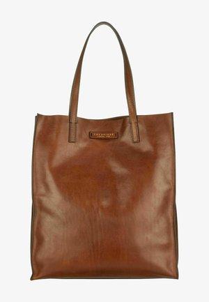 MIRRA - Tote bag - marrone/oro