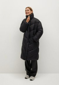 Mango - KELLOGS - Winter coat - noir - 0