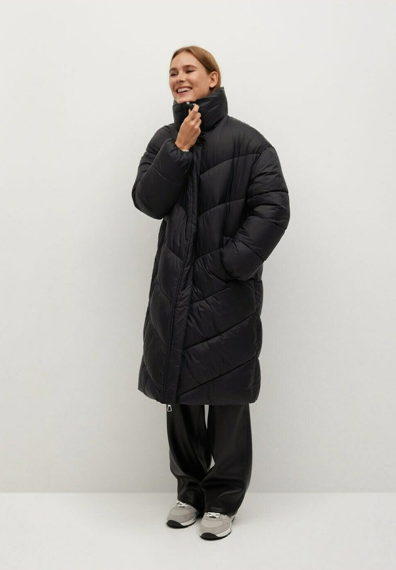 Mango - KELLOGS - Winter coat - noir