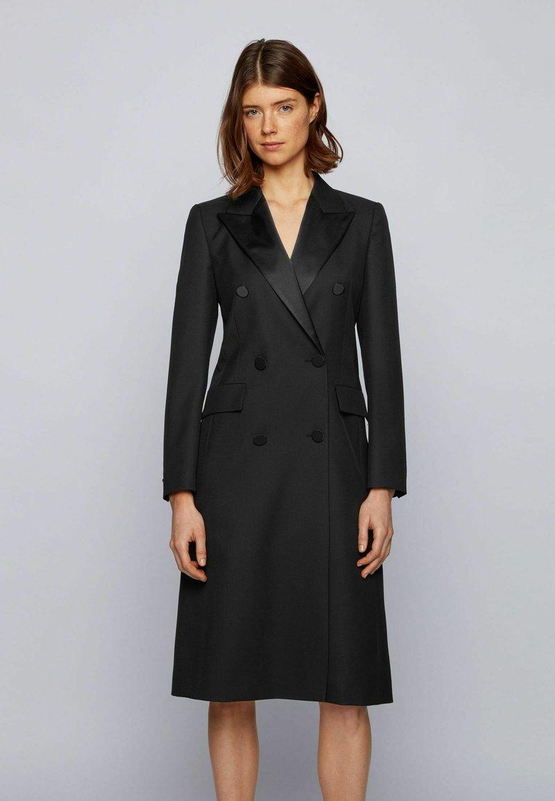 BOSS - Manteau classique - black