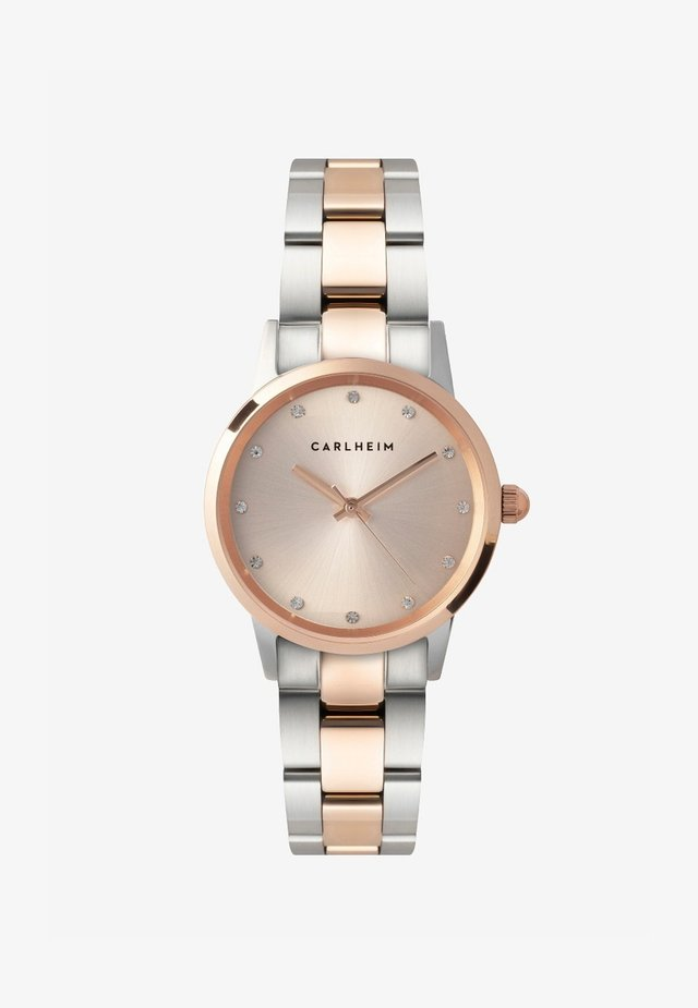 ANNA 32 MM - Montre - rose gold silver gold