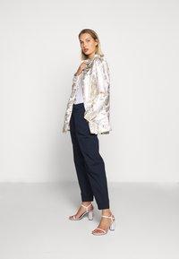 Bruuns Bazaar - LUNAS JACKET - Short coat - white/gold - 1