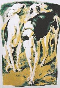 Trussardi - PURE CLOSE FIT - Print T-shirt - white - 2