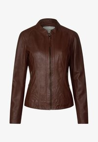 Cecil - Leather jacket - brown - 4