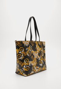 Versace Jeans Couture - Shopping bag - black/yellow - 3