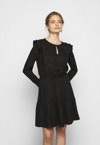 Bruuns Bazaar - PRALENZA AUDREY DRESS - Day dress - black - 0