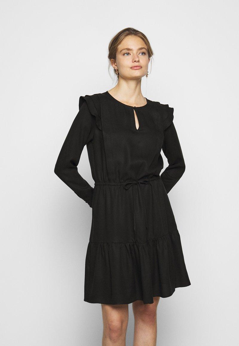 Bruuns Bazaar - PRALENZA AUDREY DRESS - Day dress - black
