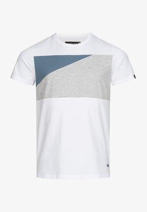SALAZAR - Print T-shirt - optical white