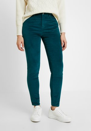 SKINNY TROUSER - Trousers - forest green