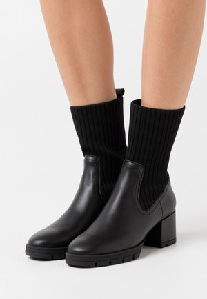 JESE - Kotníkové boty na platformě - black