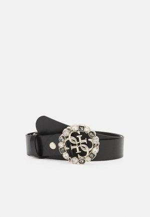 ADJUSTABLE PANTBELT - Belte - black/gold-coloured