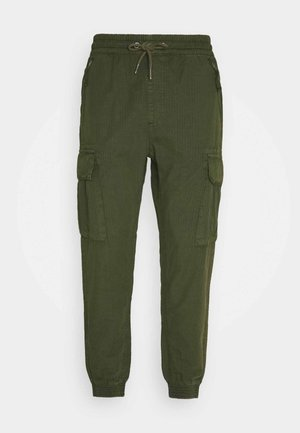 RIPSTOP JOGGER - Cargo trousers - dark olive