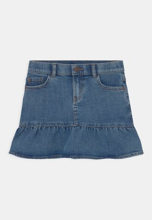 WILMA - Mini skirt - denim