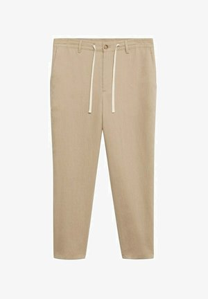 RELAXED FIT - Pantalon classique - beige