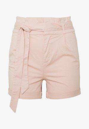 VMEVA PAPERBAG - Shorts - sepia rose